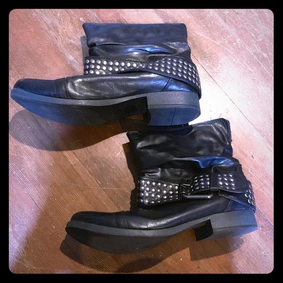 lsenboye Shoes - Rockabilly black boots